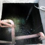bể nước ngầm bị bẩn