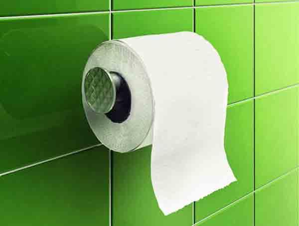Dùng quá nhiều giấy khi đi vệ sinh